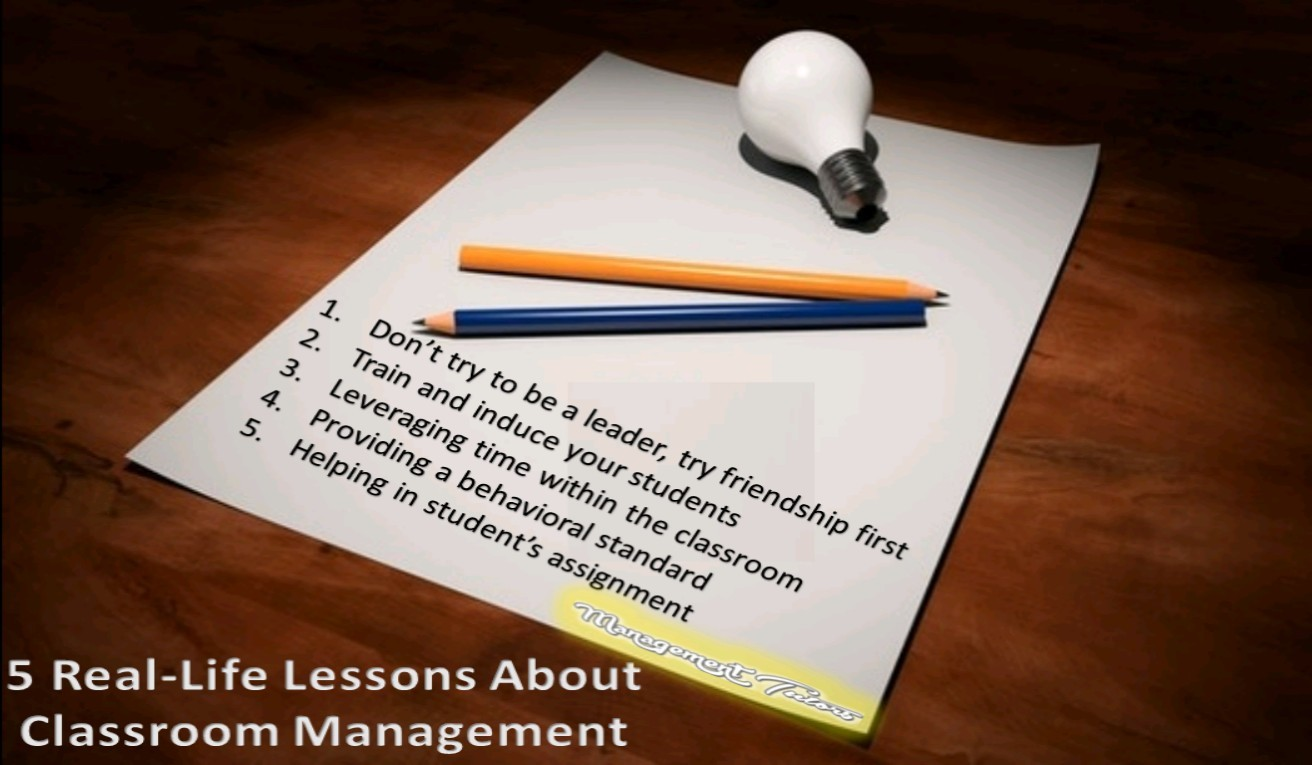 5 Real-Life Lessons About Classroom Management